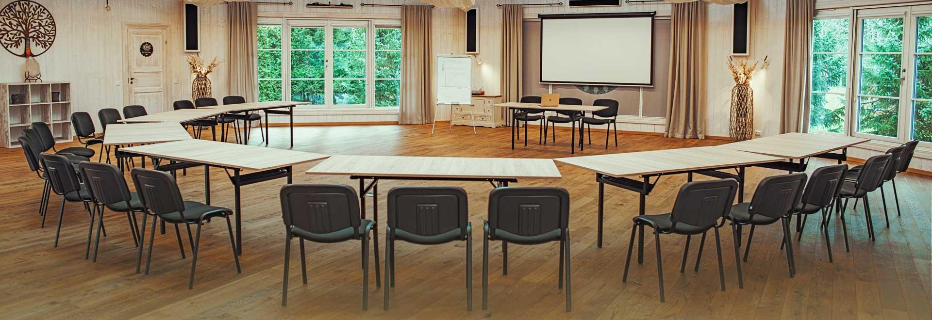 Adila Heaolu- ja puhkekeskus seminariruumid